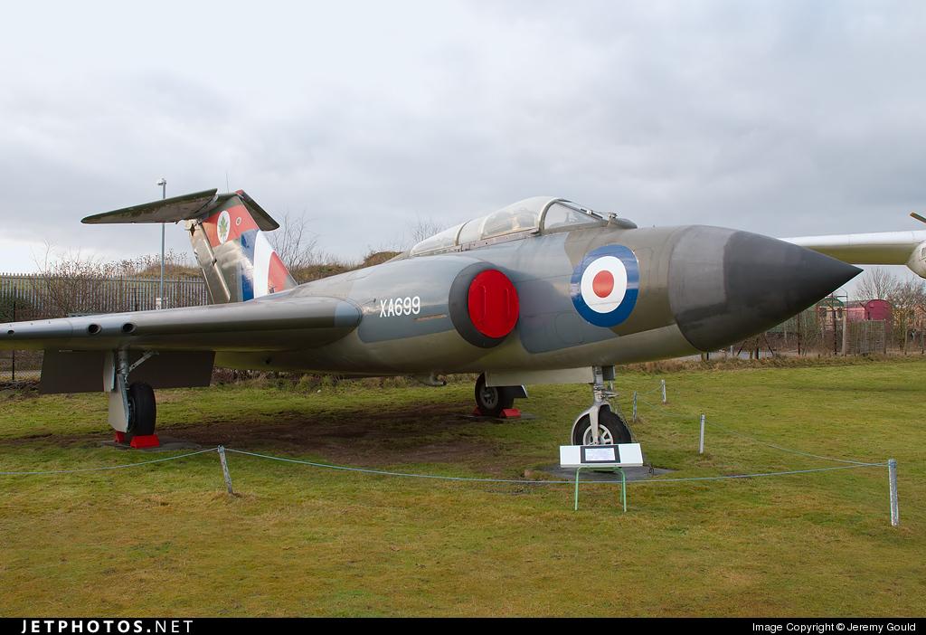 XA699 - Gloster Javelin FAW.5 - United Kingdom - Royal Air Force (RAF)