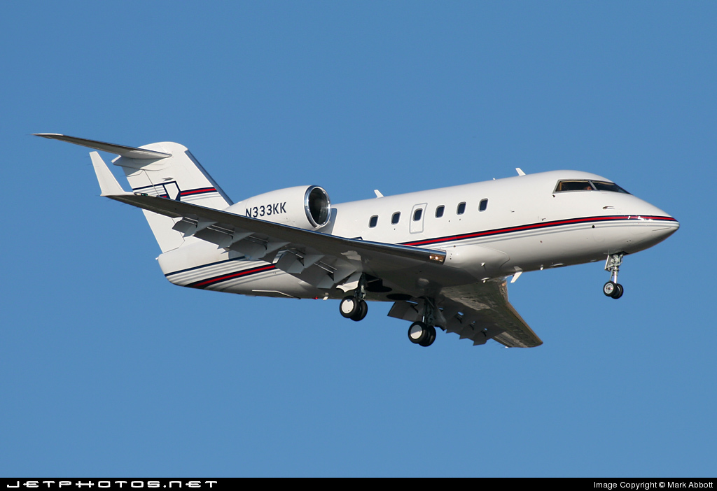 N333KK - Canadair CL-600-1A11 Challenger 600 - Private