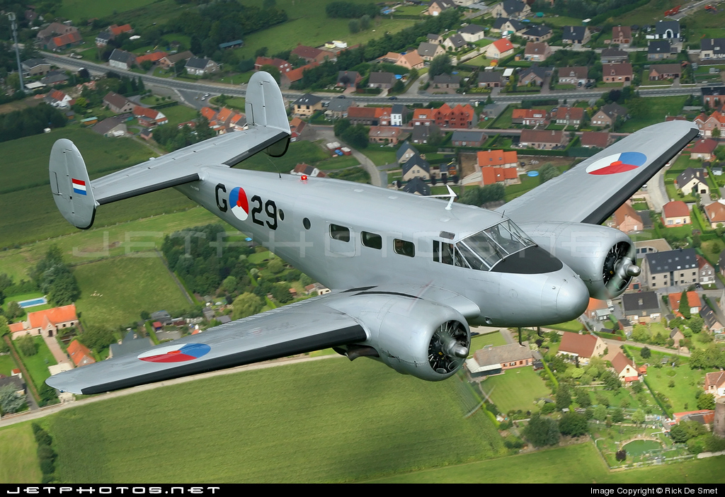PH-KHV - Beech D18S - Netherlands - Air Force Historical Flight