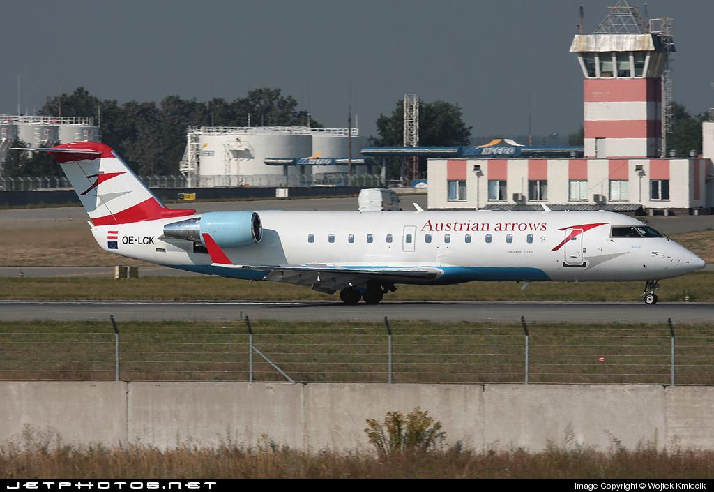 OE-LCK - Bombardier CRJ-200LR - Austrian Arrows
