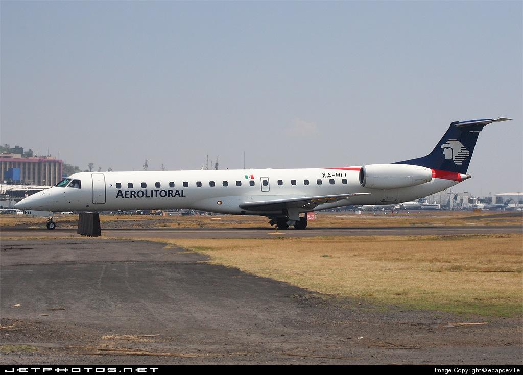 XA-HLI - Embraer ERJ-145MP - Aerolitoral