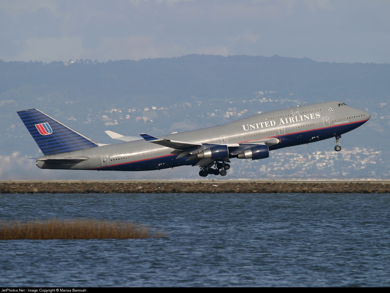 N196UA - Boeing 747-422 - United Airlines