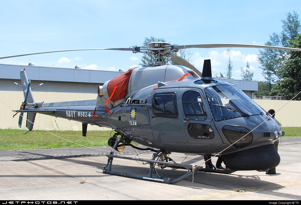 M502-6 - Eurocopter AS 555SN Fennec - Malaysia - Navy