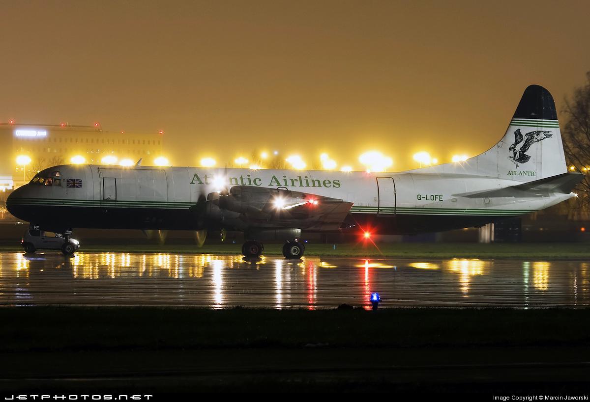 G-LOFE - Lockheed L-188C(F) Electra - Atlantic Airlines