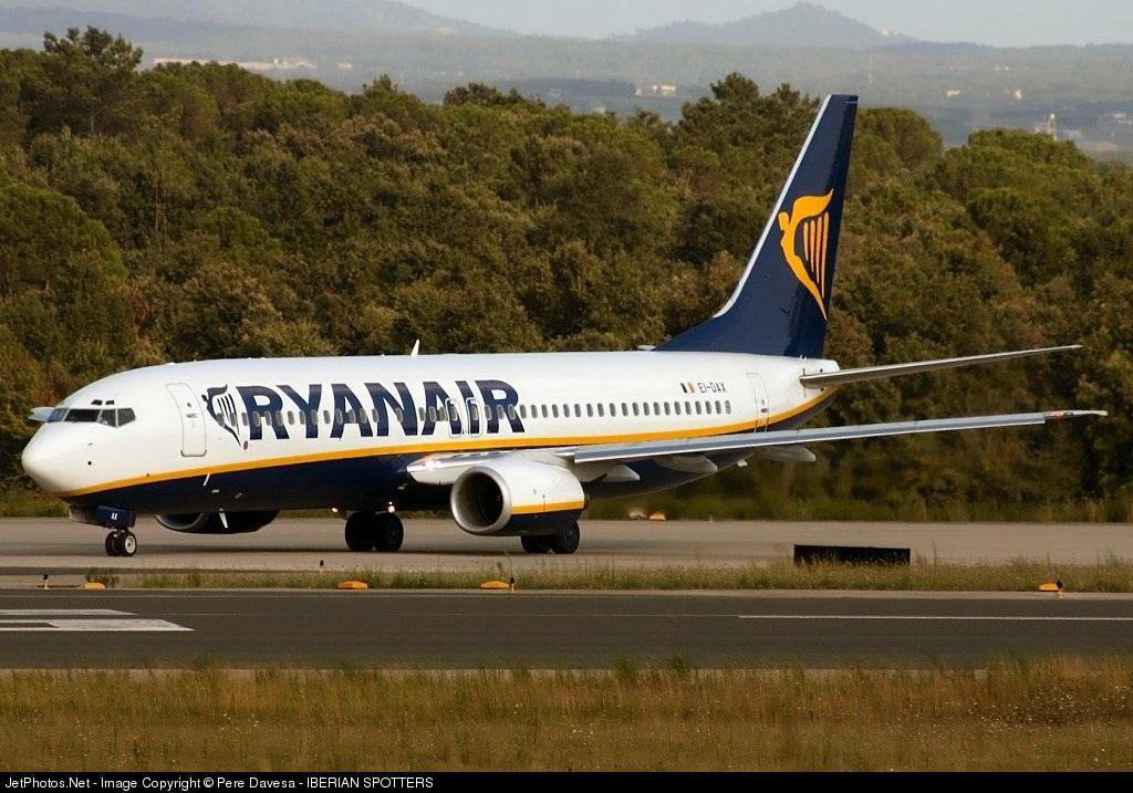 EI-DAX - Boeing 737-8AS - Ryanair