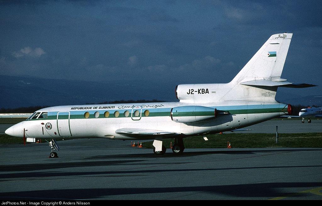 J2-KBA - Dassault Falcon 50 - Djibouti - Government