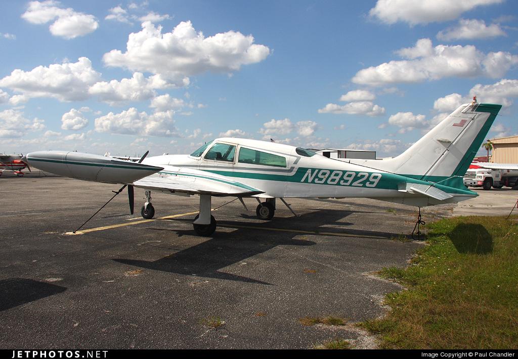 N98929 - Cessna 310R - Private