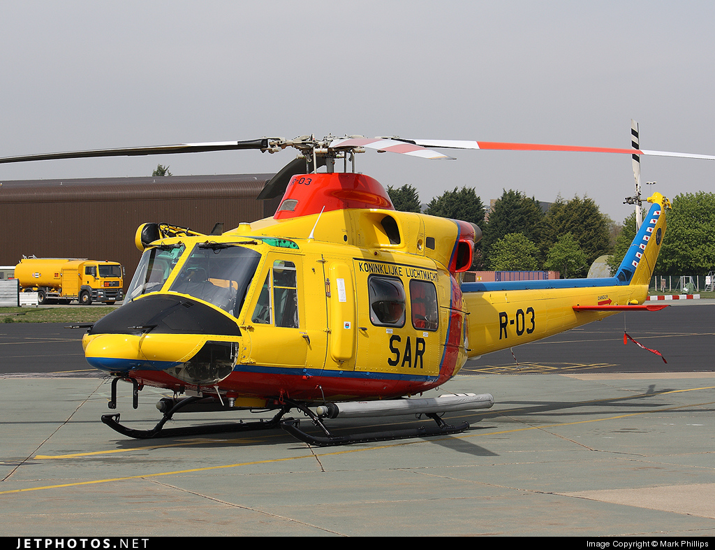 R-03 - Agusta-Bell AB-412SP - Netherlands - Royal Air Force