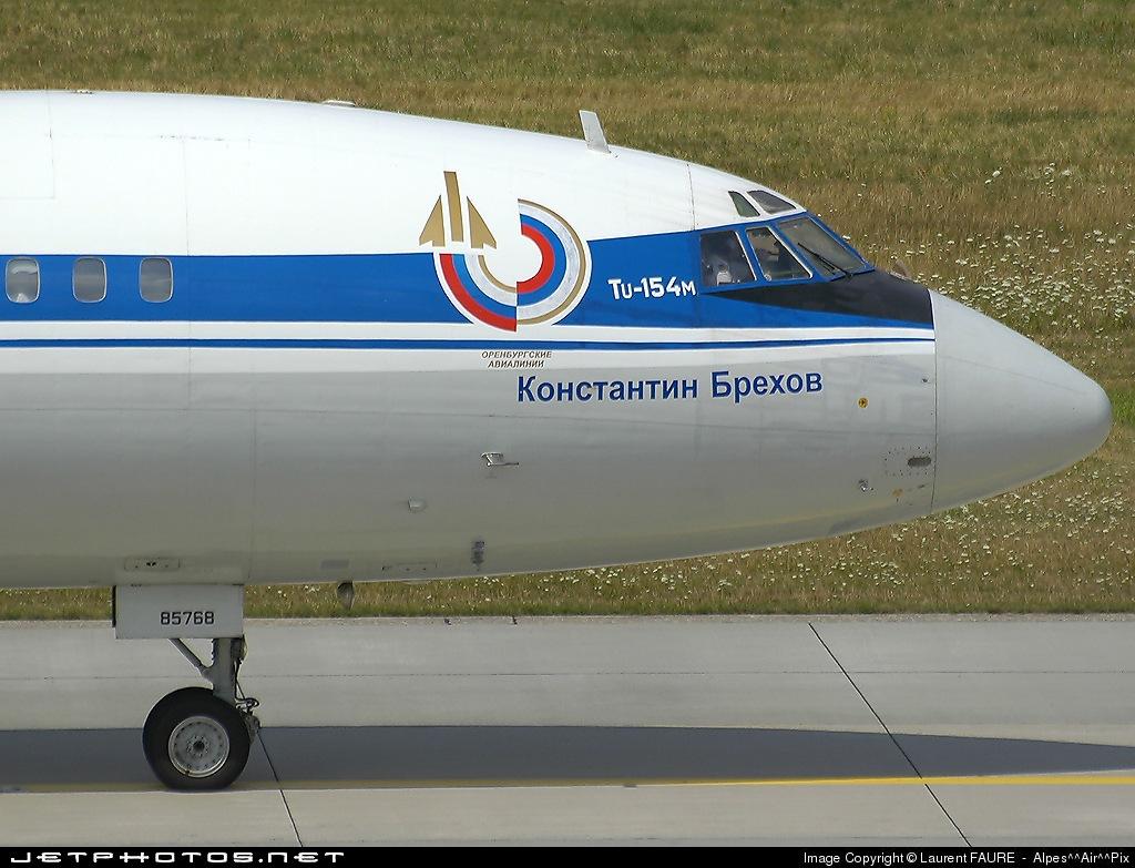 RA-85768 - Tupolev Tu-154M - Orenburg Airlines