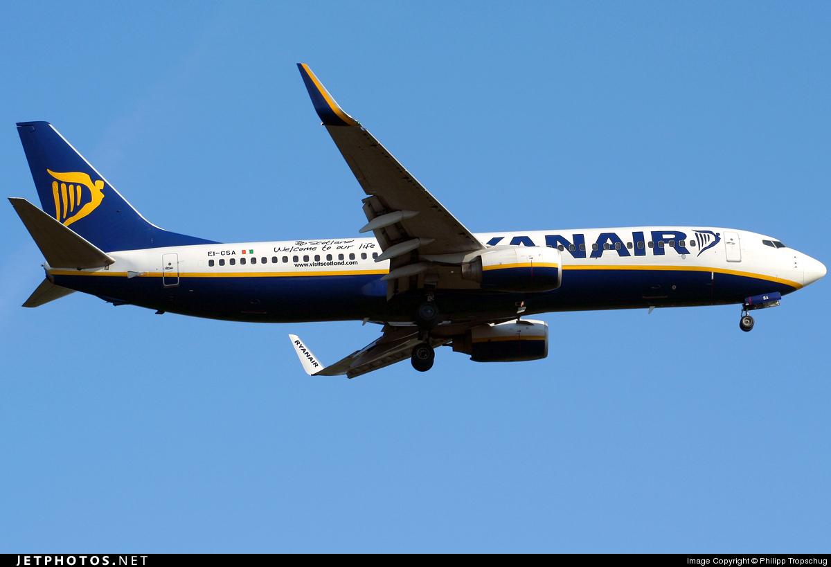 EI-CSA - Boeing 737-8AS - Ryanair