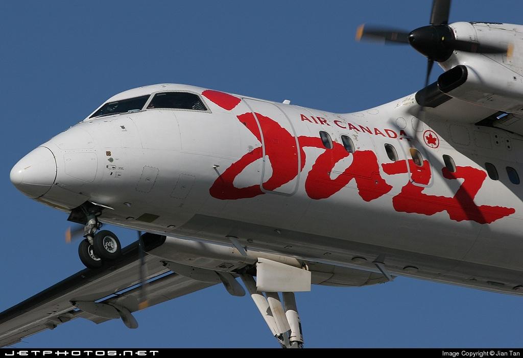 C-FGRY - Bombardier Dash 8-102 - Air Canada Jazz