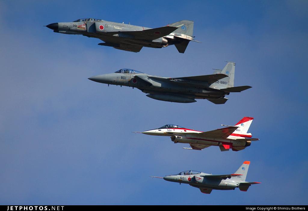 17-8301 - McDonnell Douglas F-4EJ Phantom II - Japan - Air Self Defence Force (JASDF)