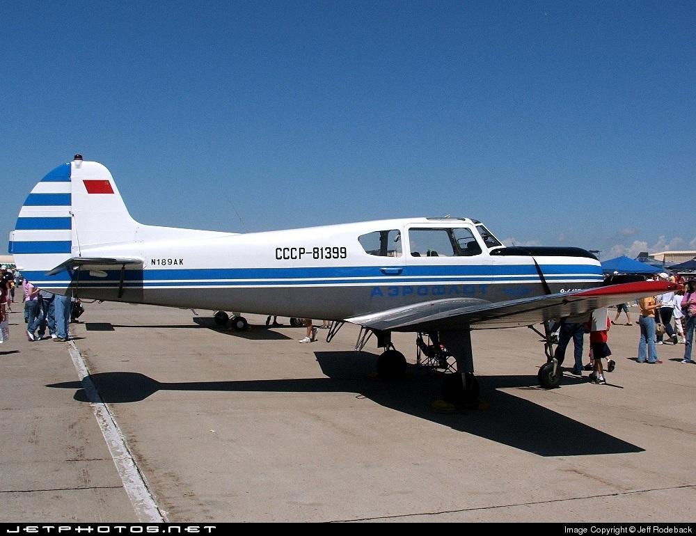 N189AK - Yakovlev Yak-18T - Private