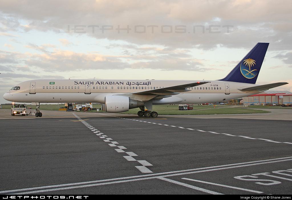F-GTIB - Boeing 757-28A - Saudi Arabian Airlines (Eagle Aviation)