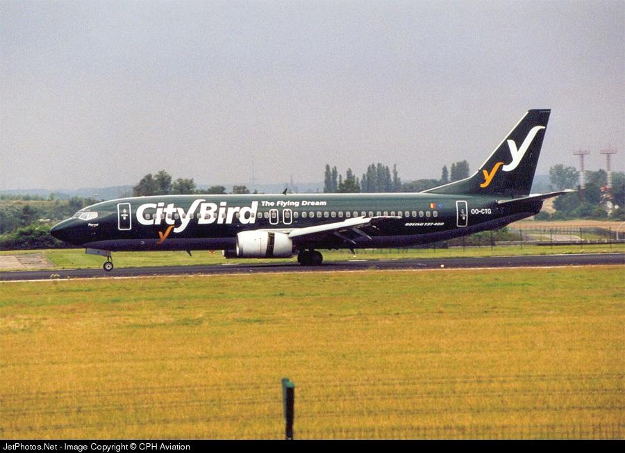 OO-CTG - Boeing 737-43Q - CityBird