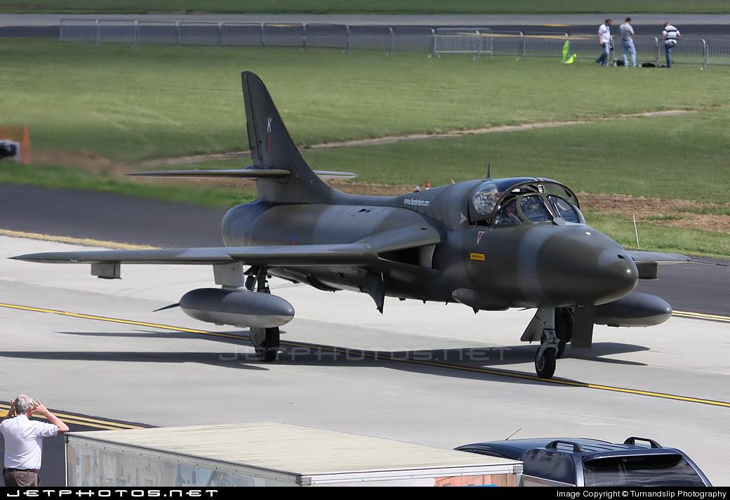 XF995 - Hawker Hunter T.8B - United Kingdom - Royal Air Force (RAF)