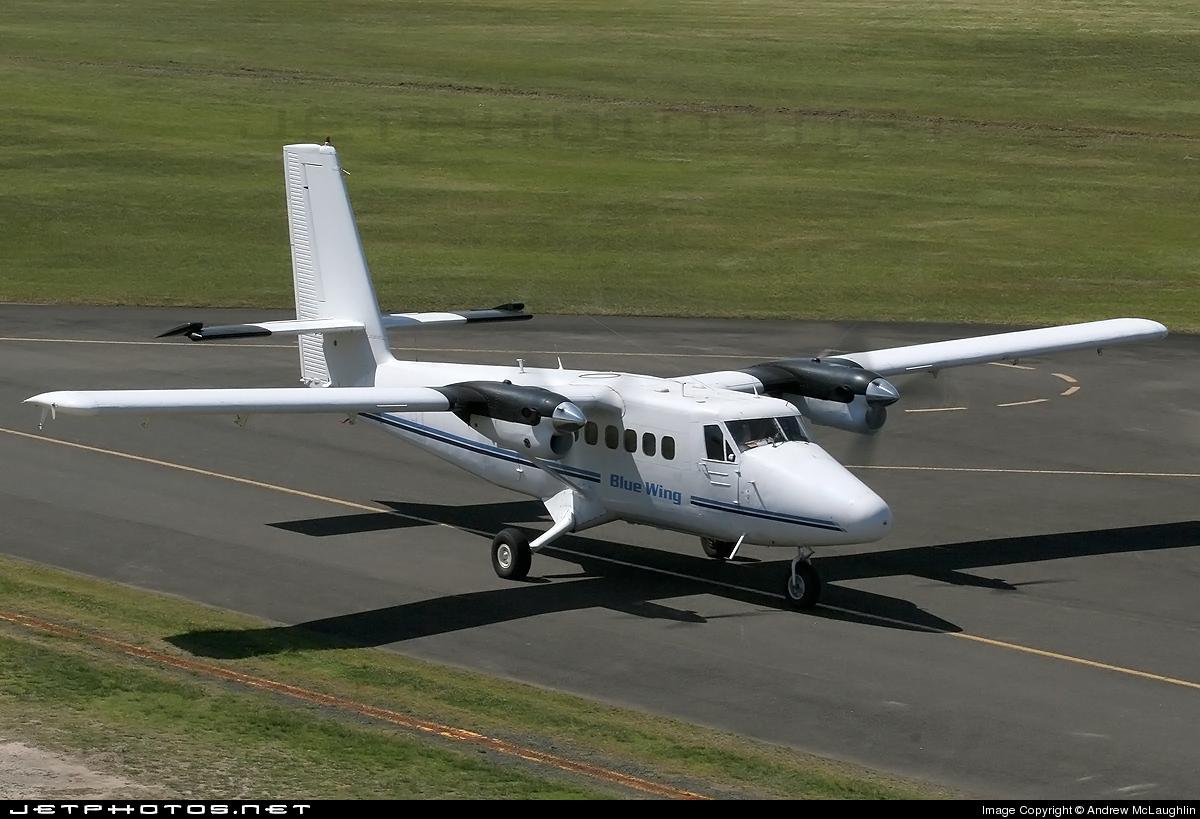 VH-JEA - De Havilland Canada DHC-6-200 Twin Otter - Blue Wing Airlines