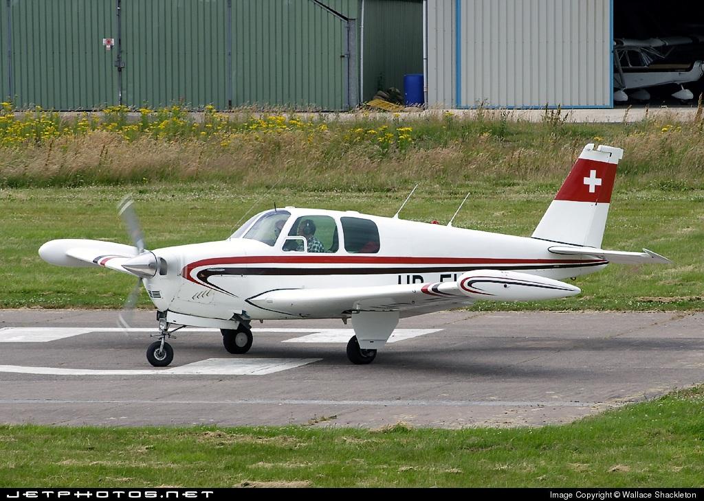 HB-EHO - Beechcraft C33 Debonair - Private