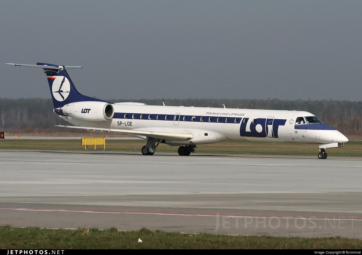 SP-LGE - Embraer ERJ-145LR - LOT Polish Airlines