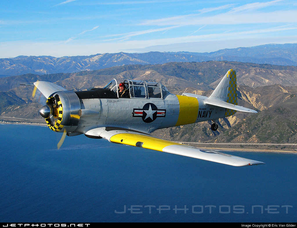 N817TX - North American AT-6D Texan - Private
