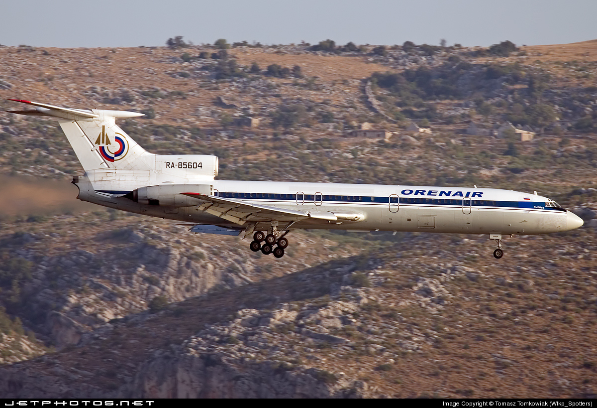 RA-85604 - Tupolev Tu-154B-2 - Orenair