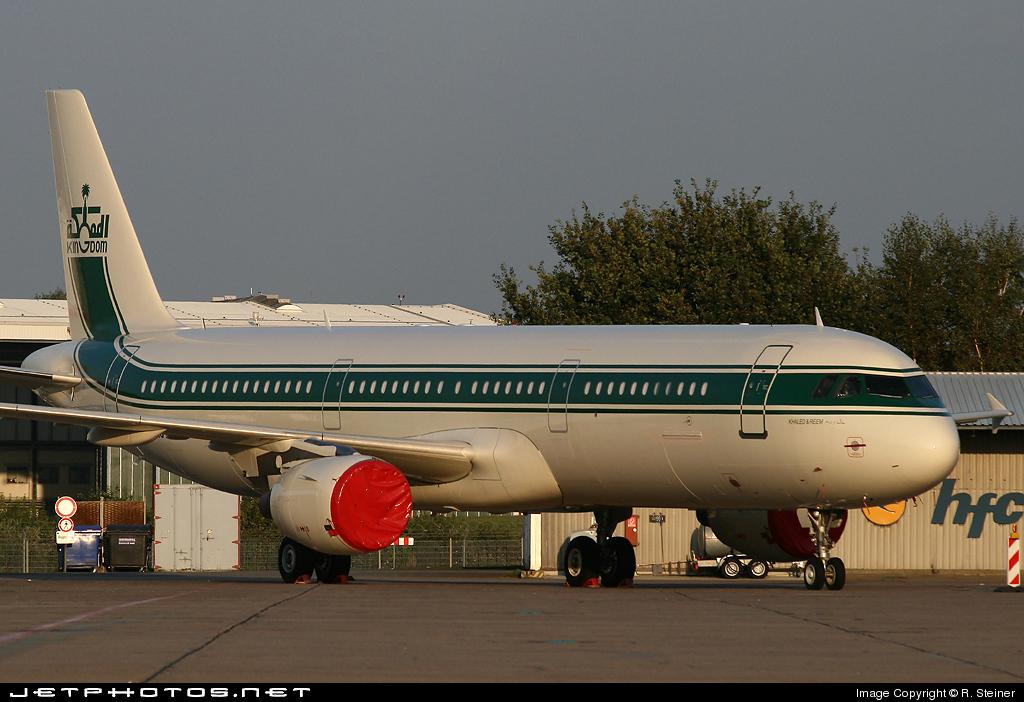 N695LC - Airbus A321-211 - Kingdom Holding Company