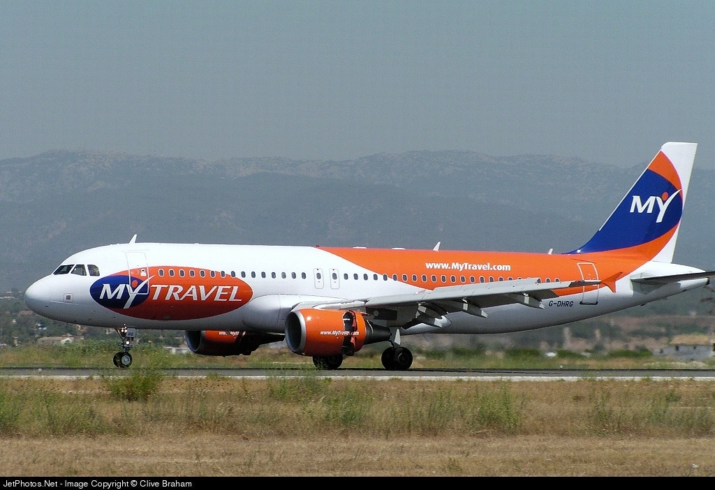 G-DHRG - Airbus A320-214 - MyTravel Airways