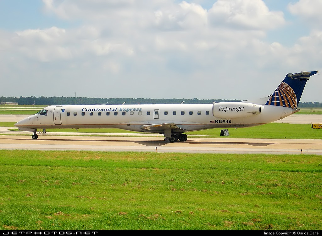N15948 - Embraer ERJ-145ER - Continental Express (ExpressJet Airlines)