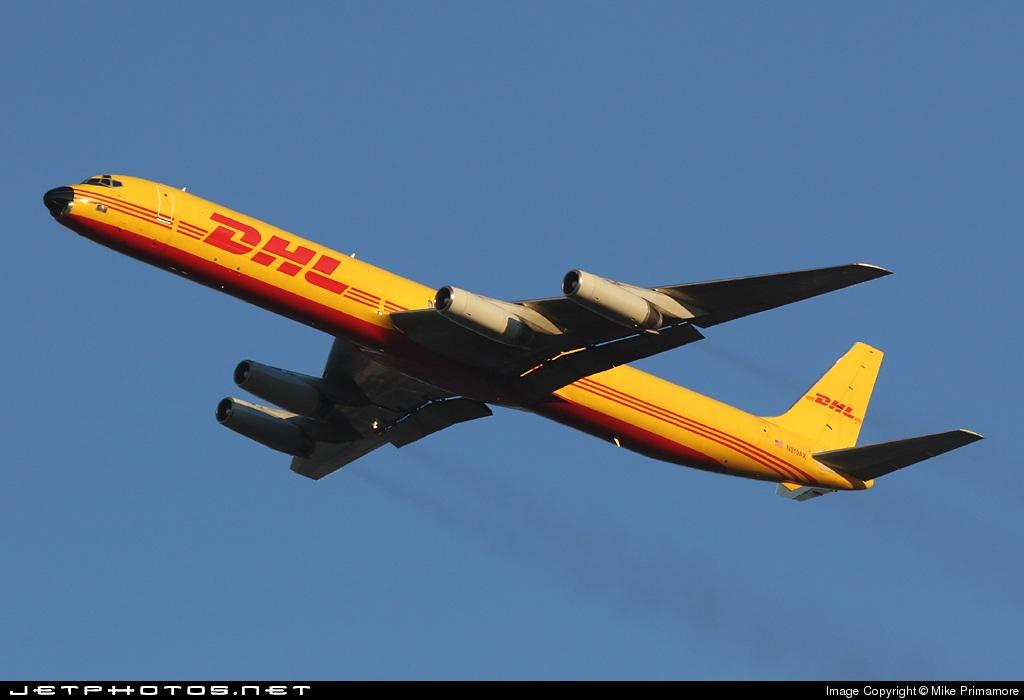 N819AX - Douglas DC-8-63(F) - DHL (ABX Air)
