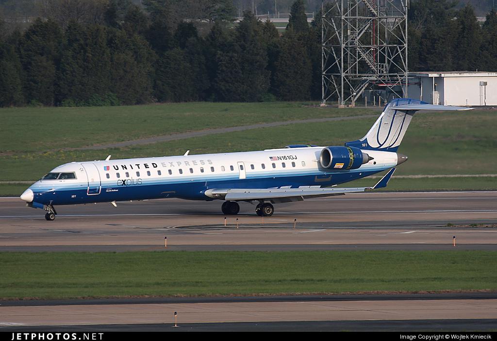 N161GJ - Bombardier CRJ-701 - United Express (GoJet Airlines)