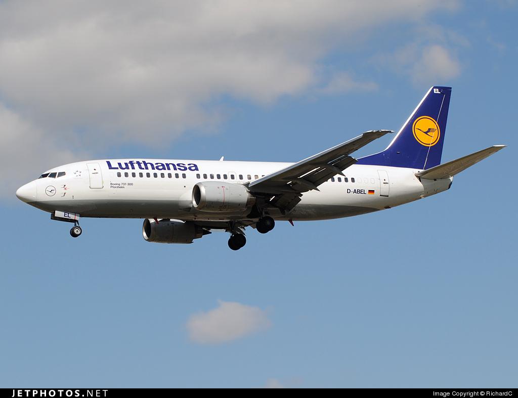 D-ABEL - Boeing 737-330 - Lufthansa