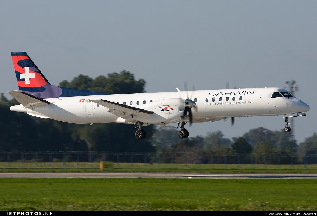 HB-IZH - Saab 2000 - Darwin Airline