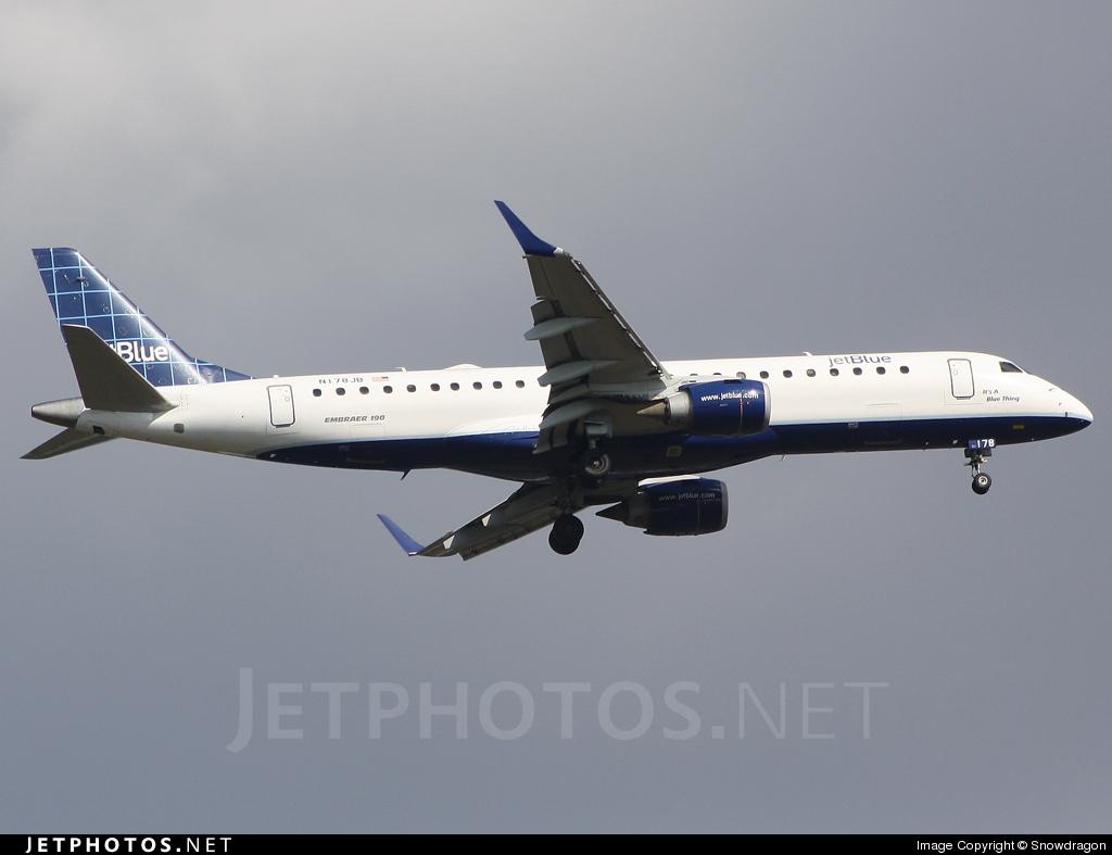 N178JB - Embraer 190-100IGW - jetBlue Airways