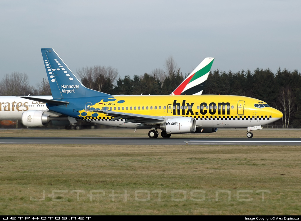 D-AHLI - Boeing 737-5K5 - Hapag-Lloyd Express