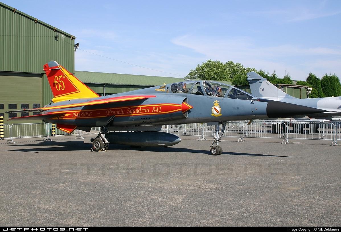 518 | Dassault Mirage F1B | France - Air Force | Nik Deblauwe