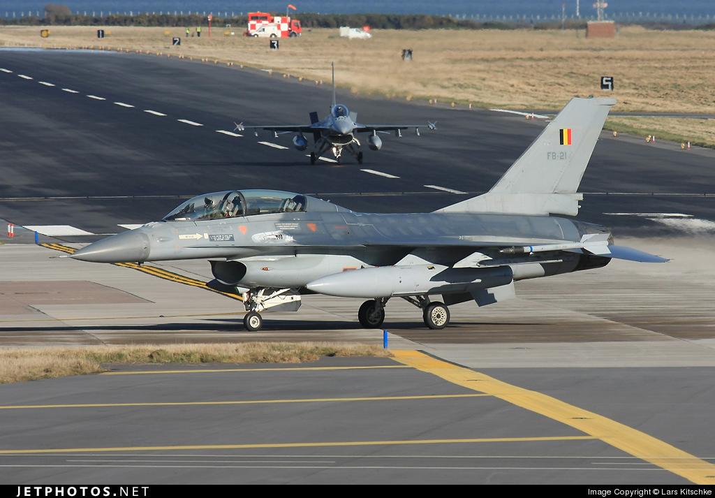 FB-21 - General Dynamics F-16BM Fighting Falcon - Belgium - Air Force