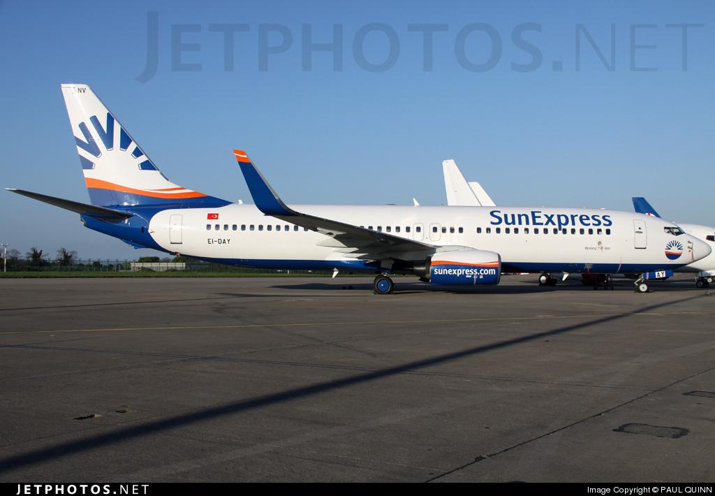 EI-DAY - Boeing 737-8AS - SunExpress