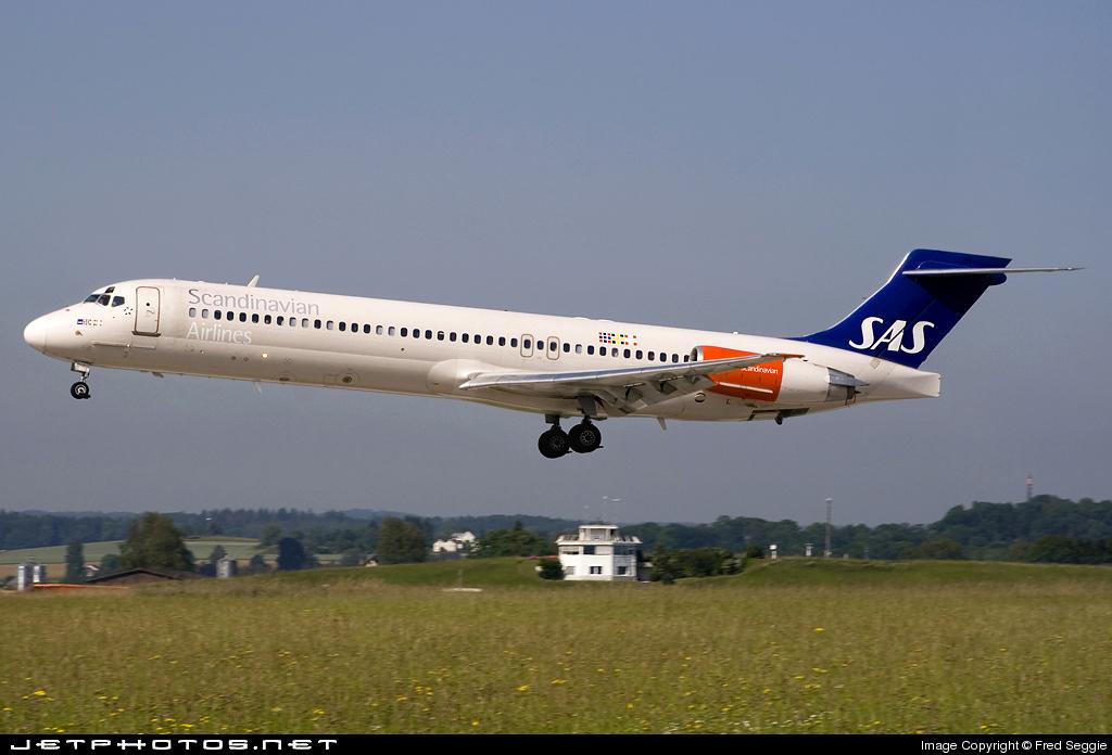 SE-DIC - McDonnell Douglas MD-87 - Scandinavian Airlines (SAS)