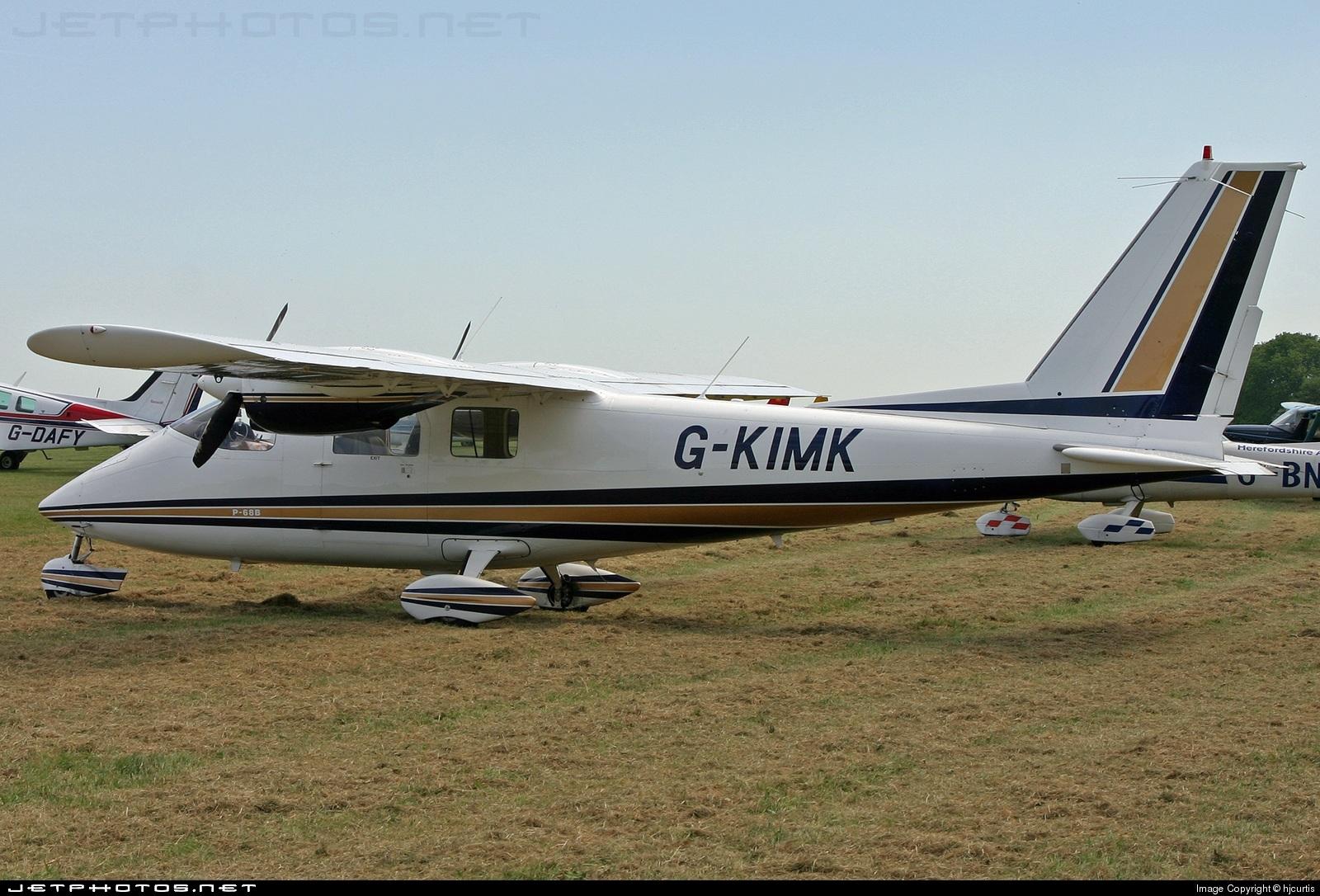 G-KIMK - Partenavia P.68B Victor - Private