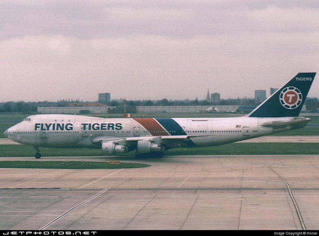 N809FT - Boeing 747-2R7F(SCD) - Flying Tigers