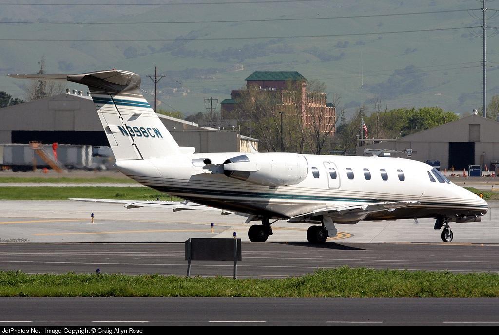 N398CW - Cessna 650 Citation III - Flight Options