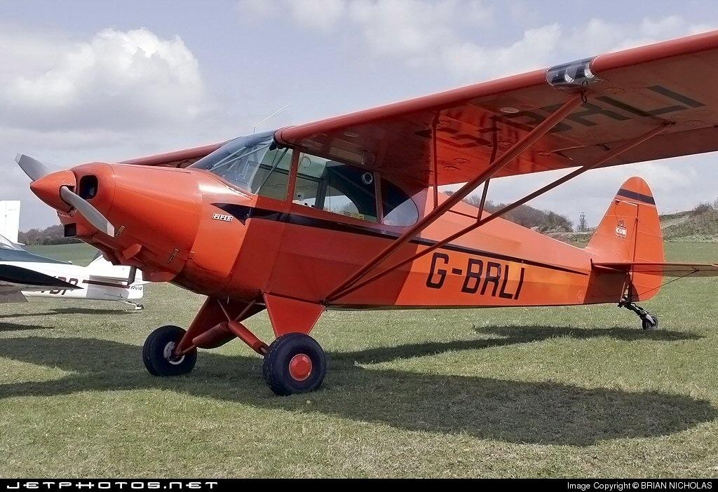 G-BRLI - Piper J-5A Cub Cruiser - Private
