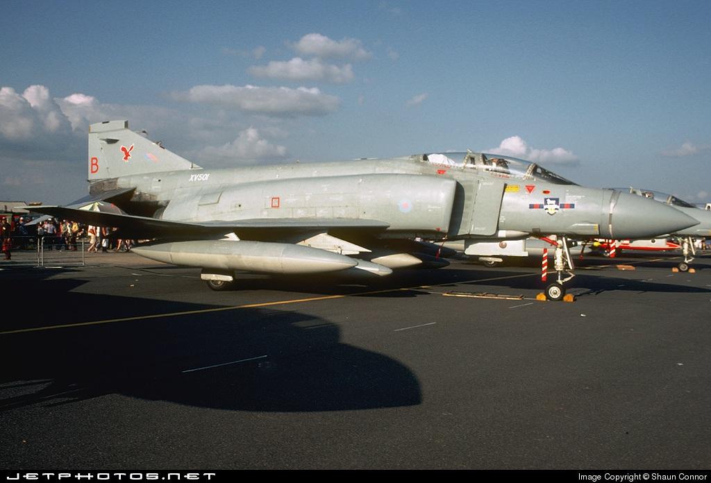 XV501 - McDonnell Douglas F-4 Phantom II - United Kingdom - Royal Air Force (RAF)