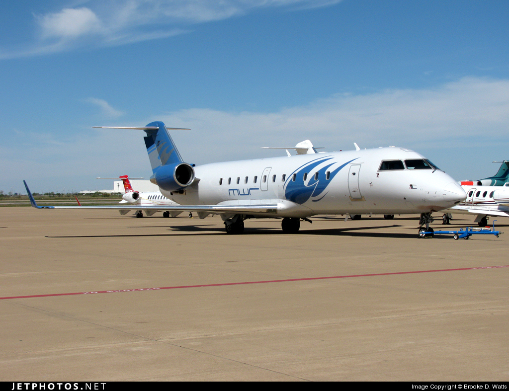 N155MW - Bombardier CL-600-2B19 Challenger 800 - Private