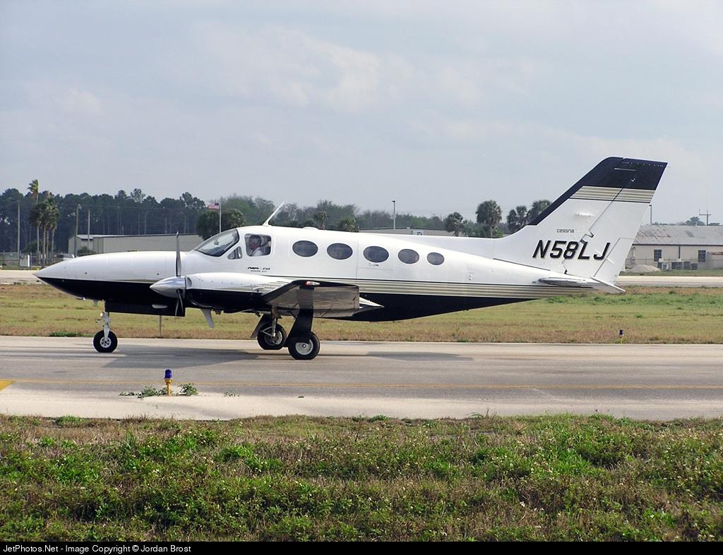 N58LJ - Cessna 414 - Private