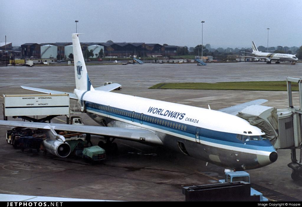 C-GRYN - Boeing 707-338C - Worldways Canada