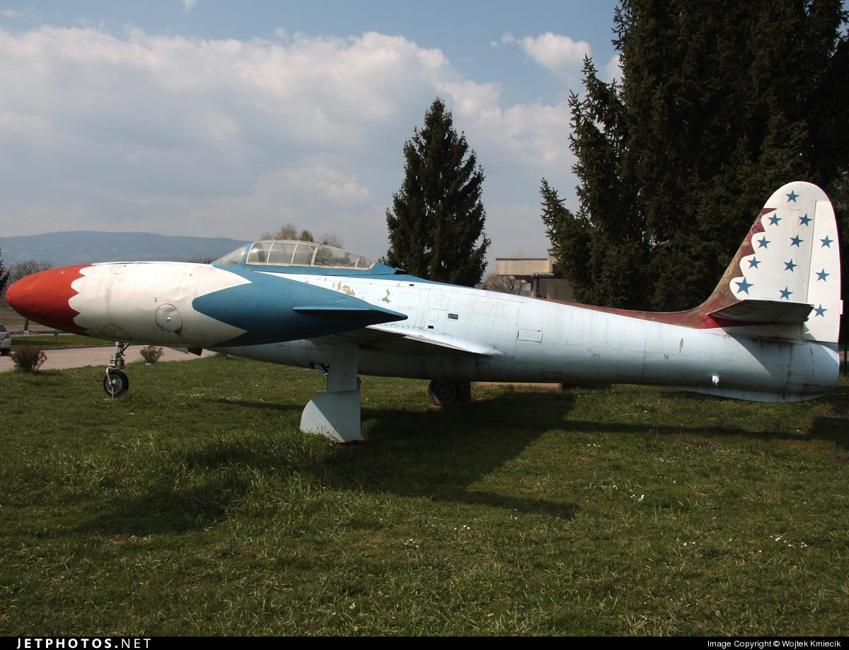 10501 - Republic F-84G Thunderjet - Yugoslavia - Air Force