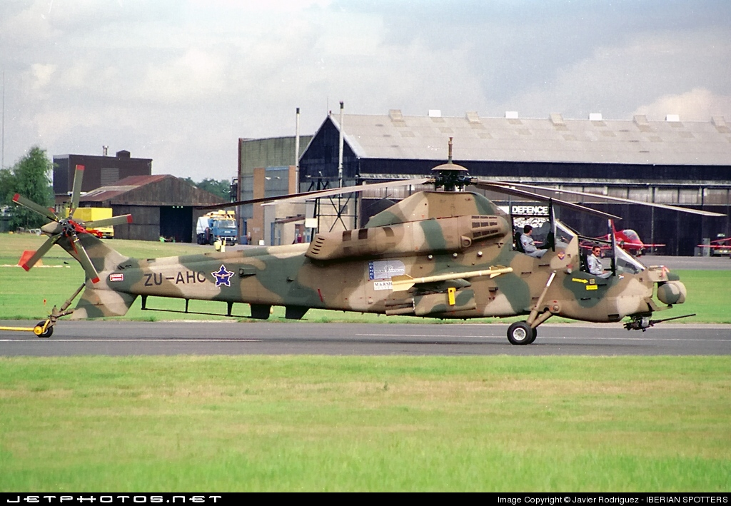 ZU-AHC - Denel CSH-2 Rooivalk - Denel Aviation