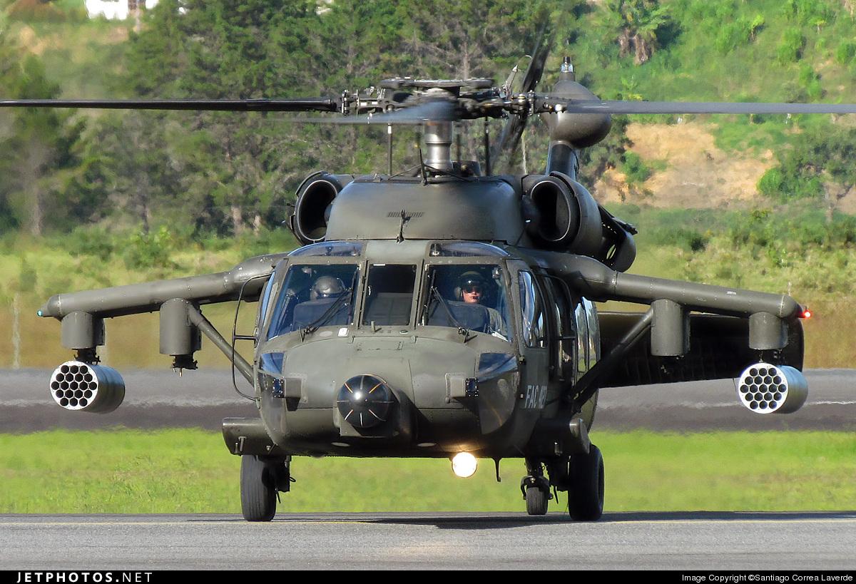 FAC4127 - Sikorsky AH-60L Arpía III - Colombia - Air Force