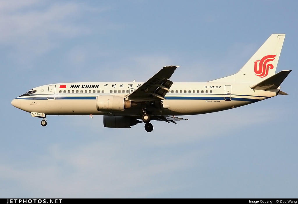 B-2597 | Boeing 737-3Z0 | Air China | Zibo Wang | JetPhotos